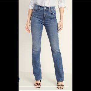 Old Navy Diva High-Waisted Blue Jeans. Size 6
